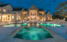 $15 Million European Inspired Stone Mansion In Austin, TX