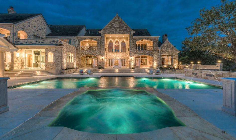 15 Million European Inspired Stone Mansion In Austin TX