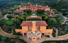 Villa Del Lago – A $55 Million European Estate In Newport Coast, CA