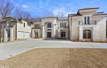 $2.5 Million Newly Built Brick Mansion In Atlanta, GA