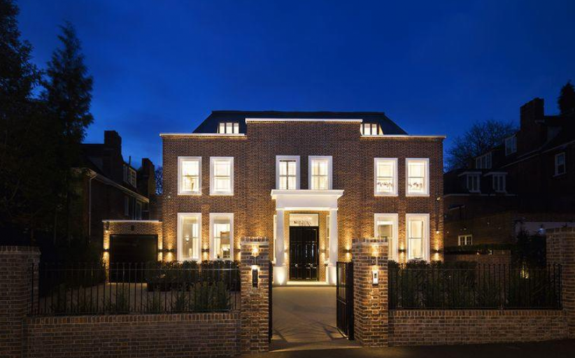 £16.95 Million Brick Mansion In London, England