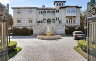 11,000 Square Foot Mediterranean Mansion In Tampa, FL