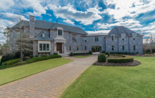11,000 Square Foot Stone Mansion In Acworth, GA