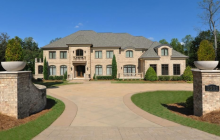 $2.5 Million Brick Mansion In Winston Salem, NC