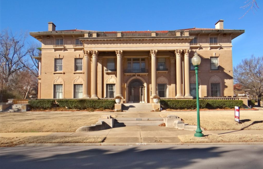 20 000 square foot historic mansion in oklahoma city ok for House plans oklahoma city