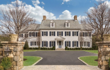 $8.25 Million Newly Built Colonial Mansion In Greenwich, CT
