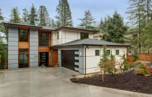 $2.3 Million Newly Built Contemporary Home In Mercer Island, WA