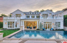 $13.95 Million Newly Built Traditional Mansion In Los Angeles, CA