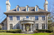$2.199 Million Stone Home In Hinsdale, IL