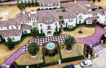 14,000 Square Foot Mediterranean Mansion In Frisco, TX