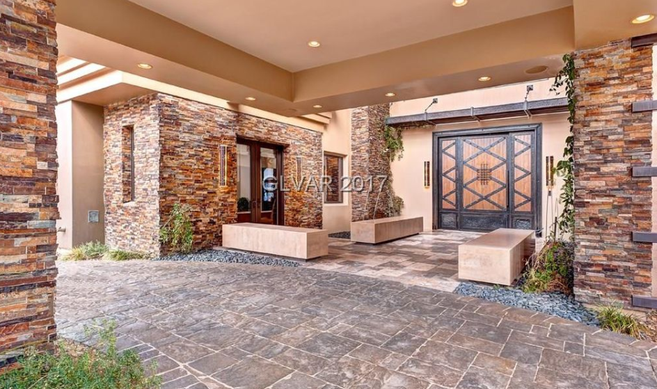 10 000 Square Foot Stone Stucco Mansion In Las Vegas Nv