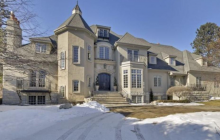 $3.35 Million French Provincial Mansion In Edina, MN