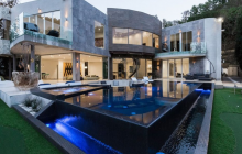 $23 Million Newly Built Contemporary Mansion In Los Angeles, CA