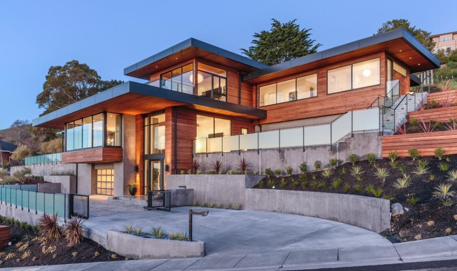 $8.685 Million Newly Built Contemporary Home In Belvedere Tiburon, CA