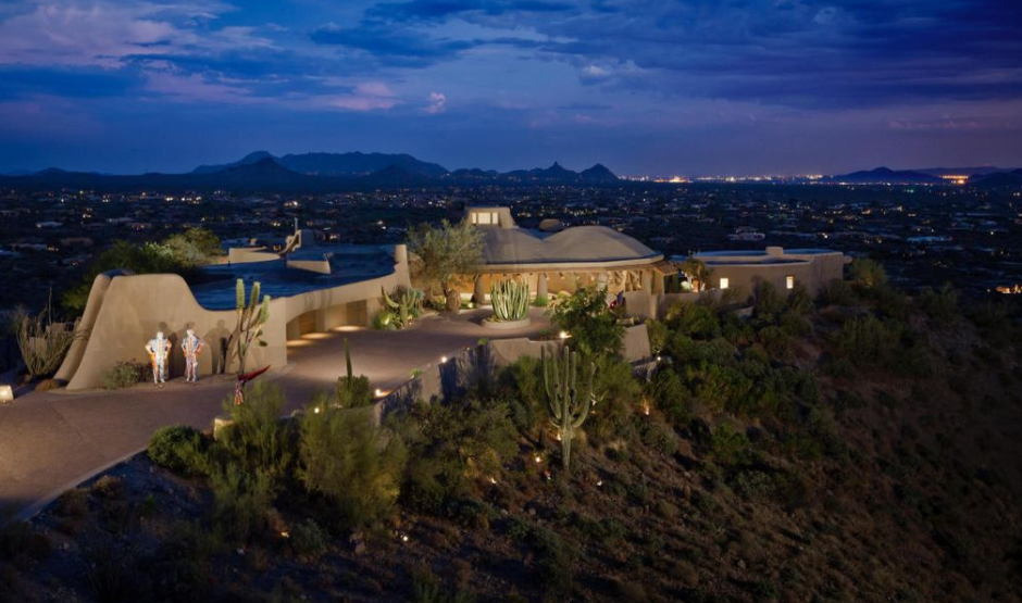 11 000 Square Foot Hilltop Mansion In Scottsdale Az