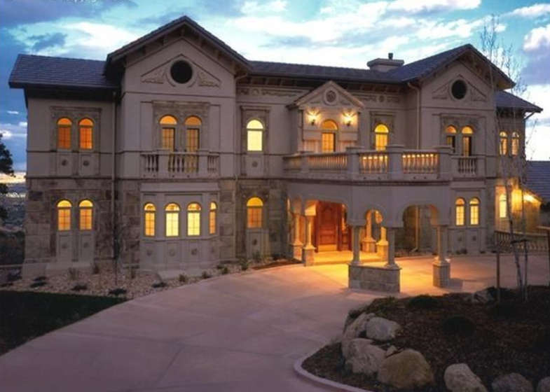 10 000 Square Foot Stone Amp Stucco Mansion In Colorado