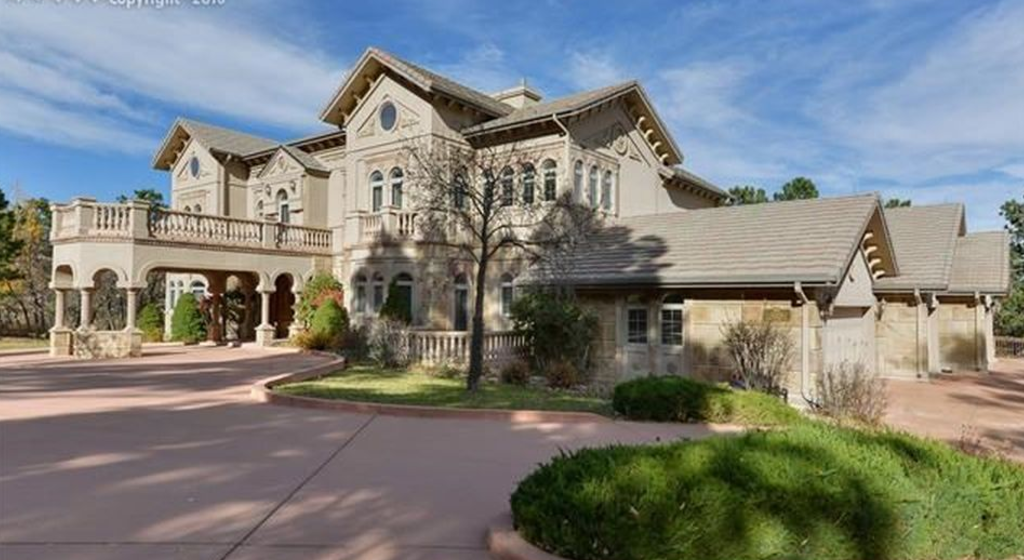 10,000 Square Foot Stone U0026 Stucco Mansion In Colorado Springs, CO
