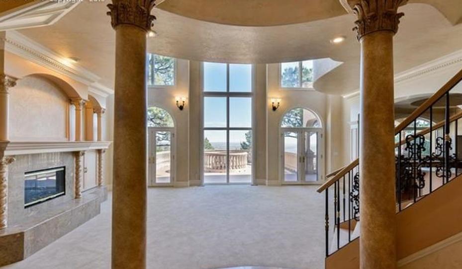 10 000 Square Foot Stone Stucco Mansion In Colorado