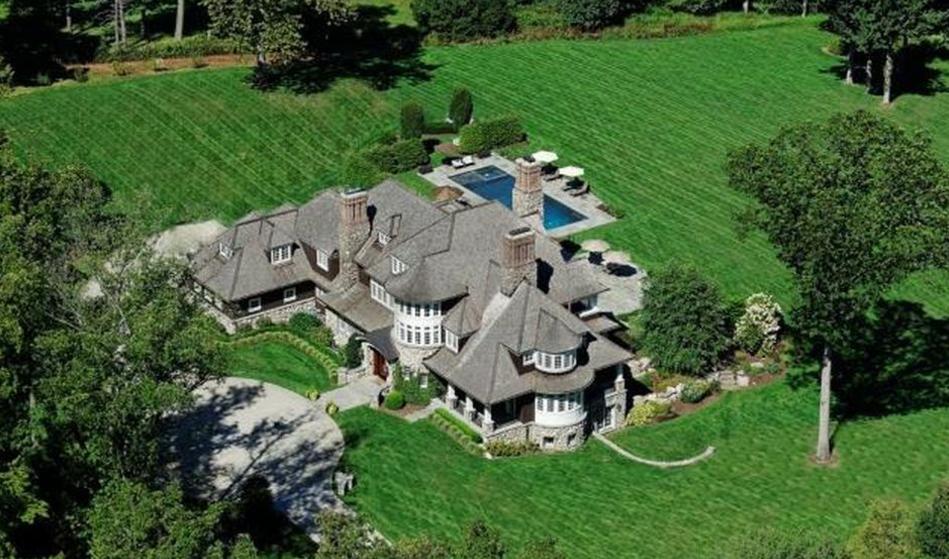 $5.5 Million Stone & Shingle Mansion In Westport, CT