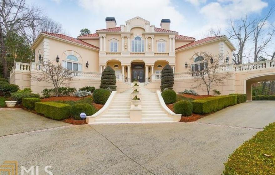 $2.995 Million Mediterranean Home In Atlanta, GA