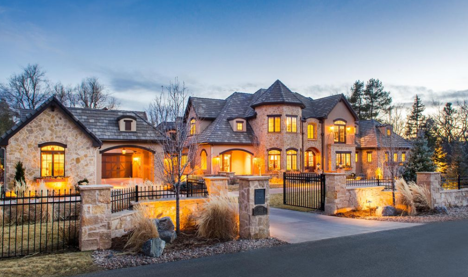 $3.875 Million Stone & Stucco Mansion In Englewood, CO