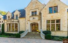 16,000 Square Foot Stone Mansion In Atlanta, GA