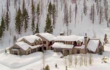 $7.9 Million Wood & Stone Mansion In Ketchum, ID