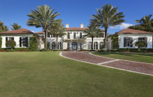 $26.5 Million Oceanfront Mansion In Manalapan, FL