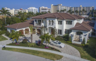 $6.995 Million Newly Built Waterfront Mansion In Boca Raton, FL