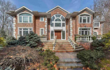 $2.8 Million Brick Colonial Home In Tenafly, NJ