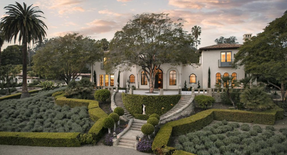 $12.485 Million Mediterranean Estate In Montecito, CA