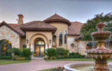 11,000 Square Foot Mediterranean Mansion In Austin, TX