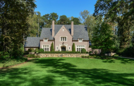 $4.5 Million Tudor Home In Atlanta, GA