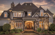 $1.35 Million Stone & Stucco Home In Waxhaw, NC