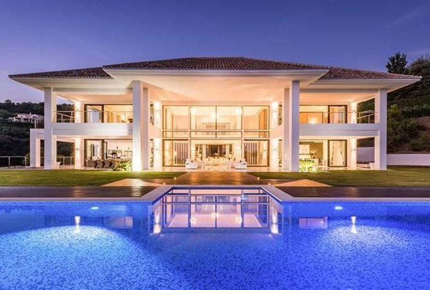 E15 Million Newly Built Modern Mansion In Malaga Spain on 4 Bedroom Apartment Floor Plans
