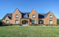 $2.495 Million Brick Colonial Home In Boyds, MD