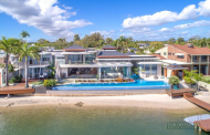 $11.9 Million Contemporary Waterfront Mansion In Queensland, AU