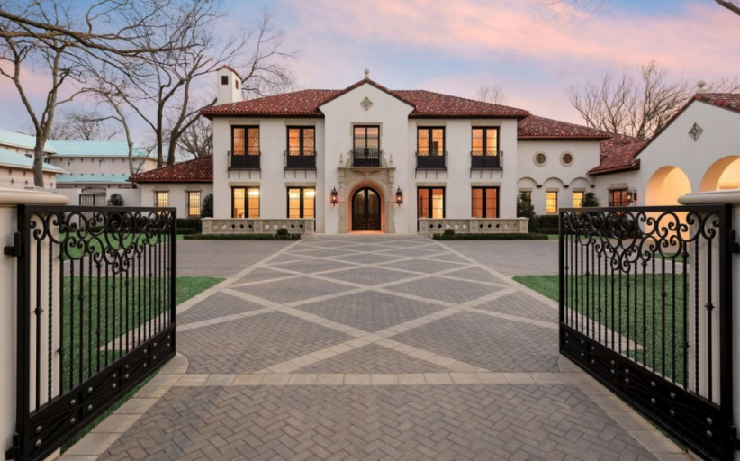 13,000 Square Foot Newly Built Mansion In Dallas, TX