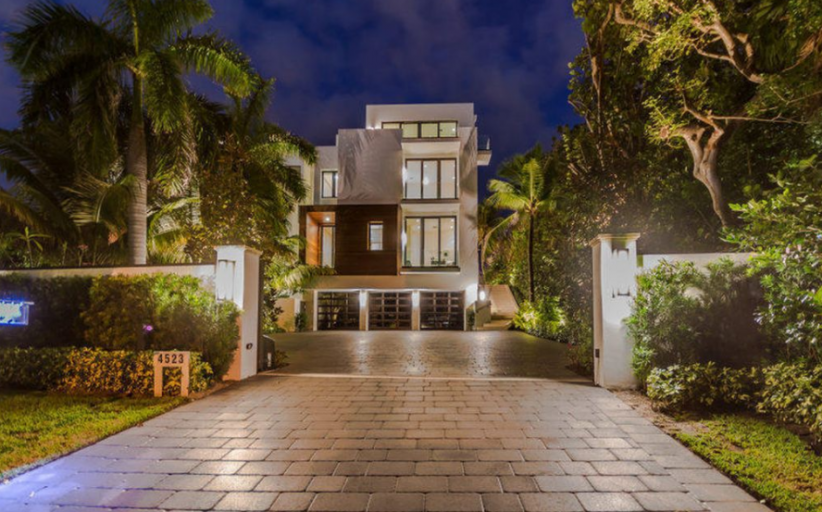 $12 Million Newly Built Contemporary Waterfront Home In Highland Beach, FL