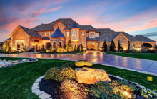 $4.5 Million European Stone Mansion In Fort Worth, TX