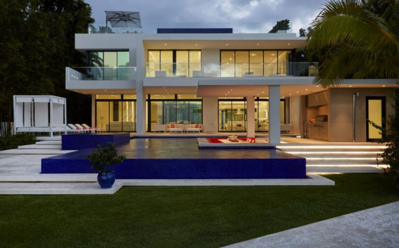 $35.9 Million Newly Built Contemporary Waterfront Mansion In Miami Beach, FL