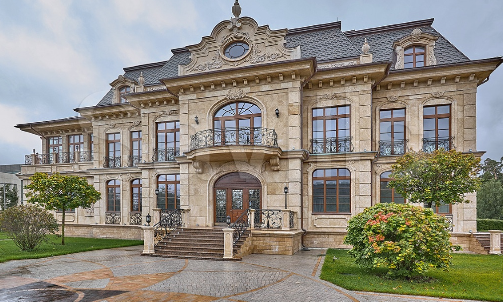 34 000 Square Foot Newly Built Mega Mansion In Russia