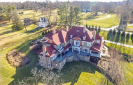 11,000 Square Foot Old Word Style Stone Mansion In Berwyn, PA