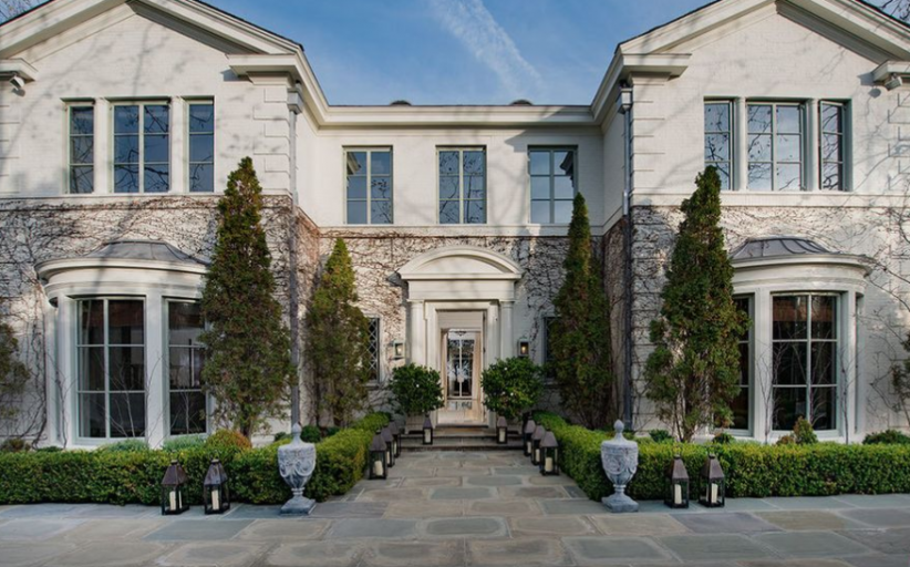 $38 Million English Inspired Mansion In Pacific Palisades, CA