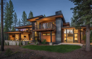$5.5 Million Newly Built Contemporary Home In Truckee, CA