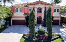 $5.995 Million Waterfront Home In Boca Raton, FL