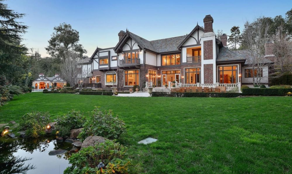 16 5 Million Tudor Mansion In Atherton Ca Homes Of The