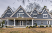 $2.6 Million Newly Built Colonial Home In Chatham, NJ