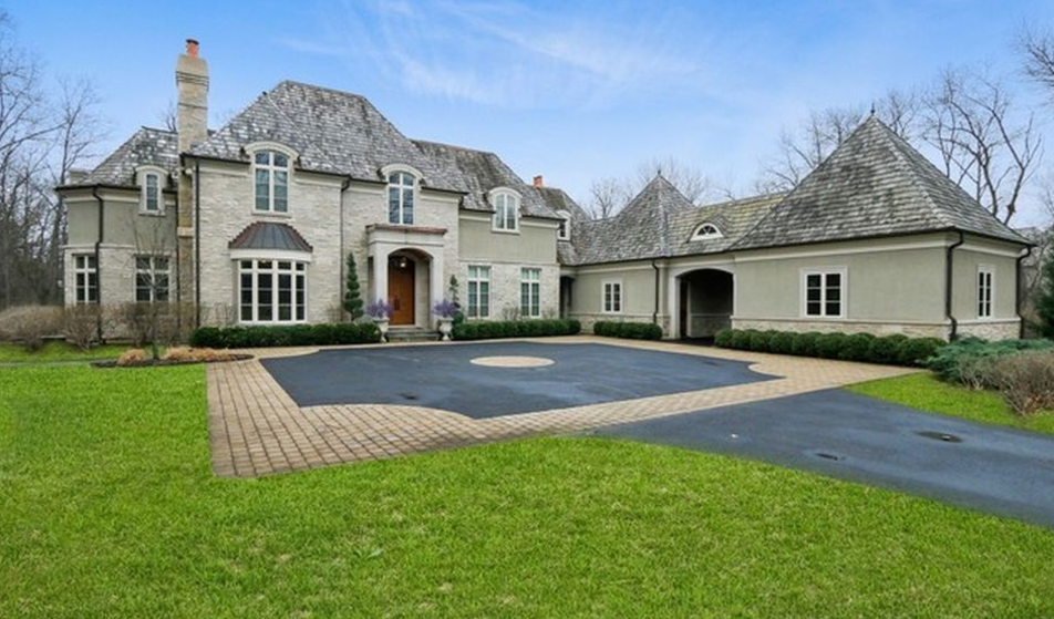3 25 Million French Country Stone Amp Stucco Home In Lake