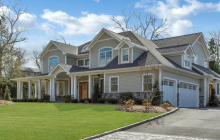 $4.5 Million Newly Built Colonial Home In Manhasset, NY